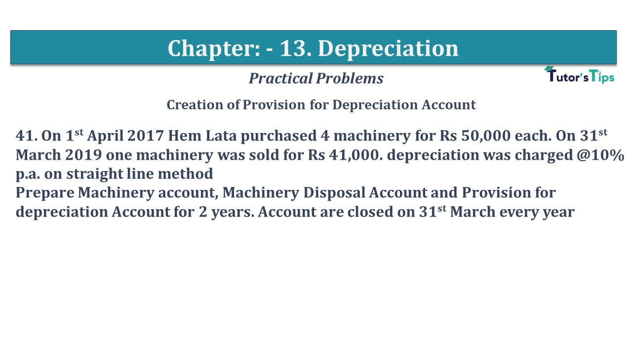 Question No 41 Chapter No 13