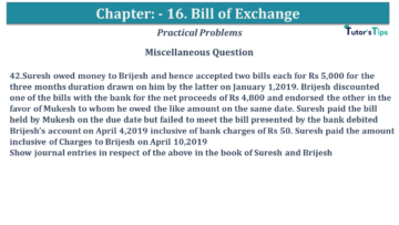 Q 42 CH 15 USHA 1 Book 2020 Solution min 360x203 - Chapter No. 15 - Bills of Exchange - USHA Publication Class +1 - Solution