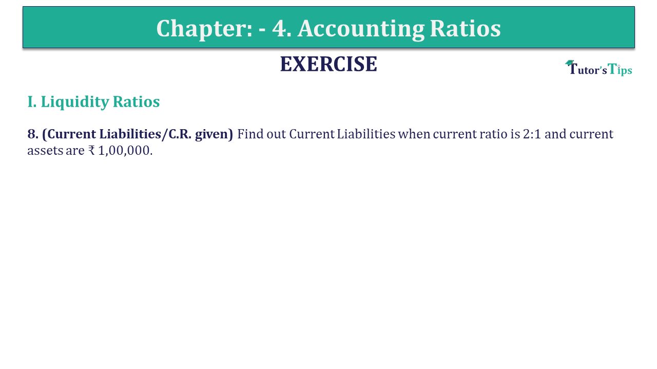 Question 08 Chapter 4 of +2-B