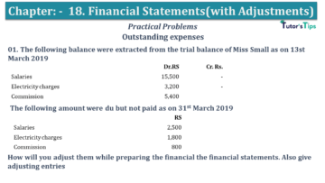 Q 01 CH 18 USHA 1 Book 2020 Solution min 360x203 - Chapter No. 18 - Financial Statements - (With Adjustments) - USHA Publication Class +1 - Solution
