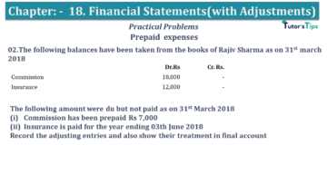 Q 02 CH 18 USHA 1 Book 2020 Solution min 360x203 - Chapter No. 18 - Financial Statements - (With Adjustments) - USHA Publication Class +1 - Solution