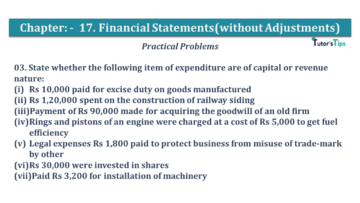 Q 03 CH 17 USHA 1 Book 2020 Solution min 360x203 - Chapter No. 17 - Financial Statements - (Without Adjustments) - USHA Publication Class +1 - Solution