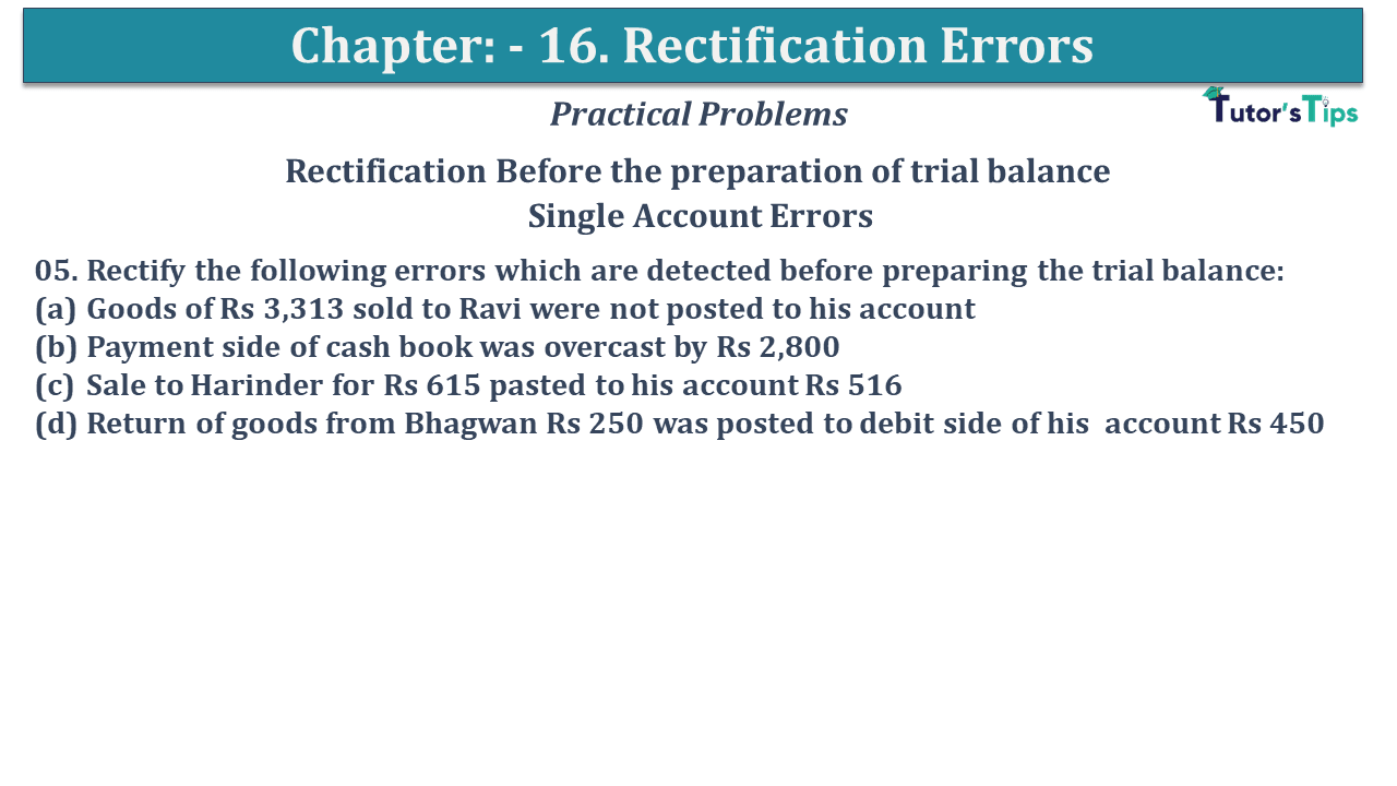 Question No 05 Chapter No 16