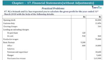 Q 07 CH 17 USHA 1 Book 2020 Solution min 360x203 - Chapter No. 17 - Financial Statements - (Without Adjustments) - USHA Publication Class +1 - Solution