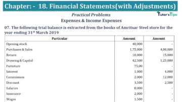 Q 07 CH 18 USHA 1 Book 2020 Solution min 360x203 - Chapter No. 18 - Financial Statements - (With Adjustments) - USHA Publication Class +1 - Solution