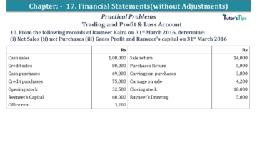 Q 10 CH 17 USHA 1 Book 2020 Solution min 360x203 - Chapter No. 17 - Financial Statements - (Without Adjustments) - USHA Publication Class +1 - Solution