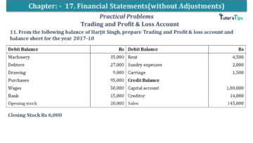 Q 11 CH 17 USHA 1 Book 2020 Solution min 360x203 - Chapter No. 17 - Financial Statements - (Without Adjustments) - USHA Publication Class +1 - Solution