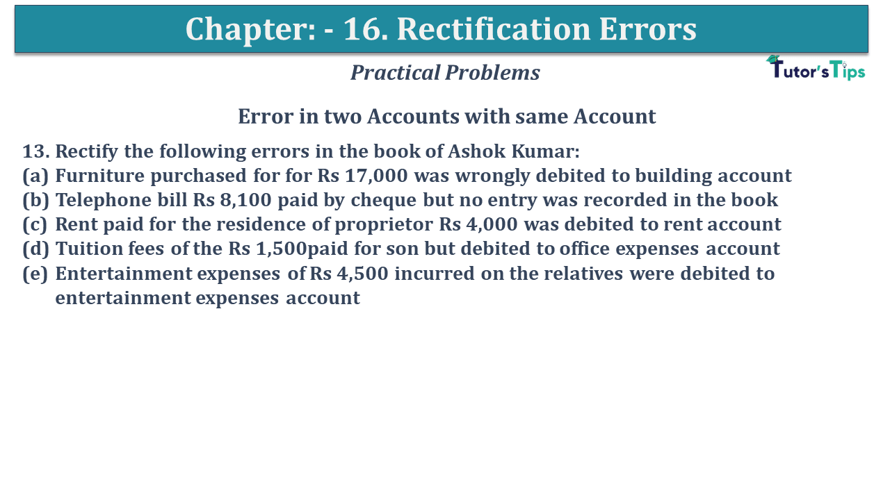 Question No 13 Chapter No 16