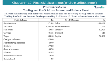 Q 18 CH 17 USHA 1 Book 2020 Solution min 360x203 - Chapter No. 17 - Financial Statements - (Without Adjustments) - USHA Publication Class +1 - Solution