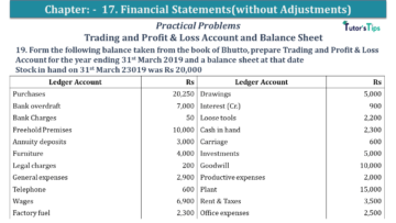 Q 19 CH 17 USHA 1 Book 2020 Solution min 360x203 - Chapter No. 17 - Financial Statements - (Without Adjustments) - USHA Publication Class +1 - Solution