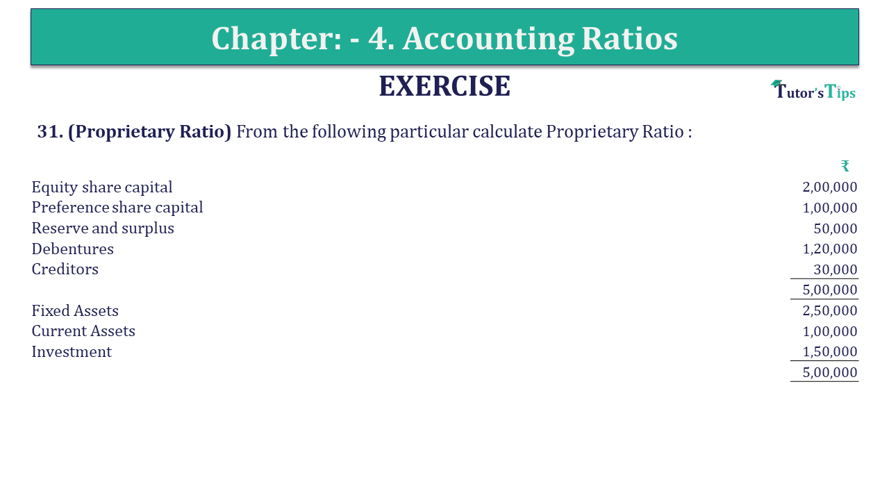 Question 31 Chapter 4 of +2-B