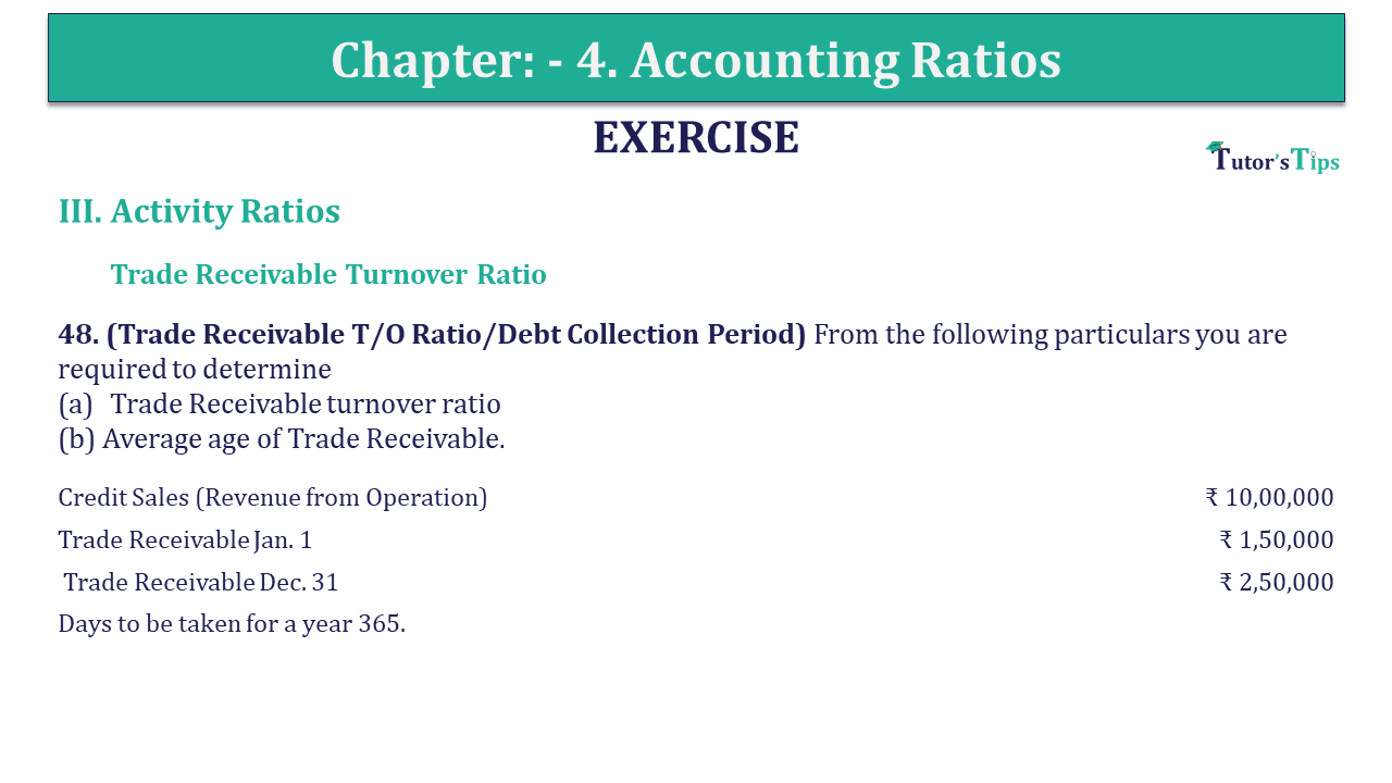 Question 48 Chapter 4 of +2-B