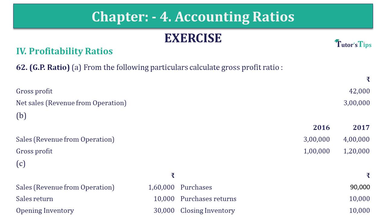 Question 62 Chapter 4 of +2-B