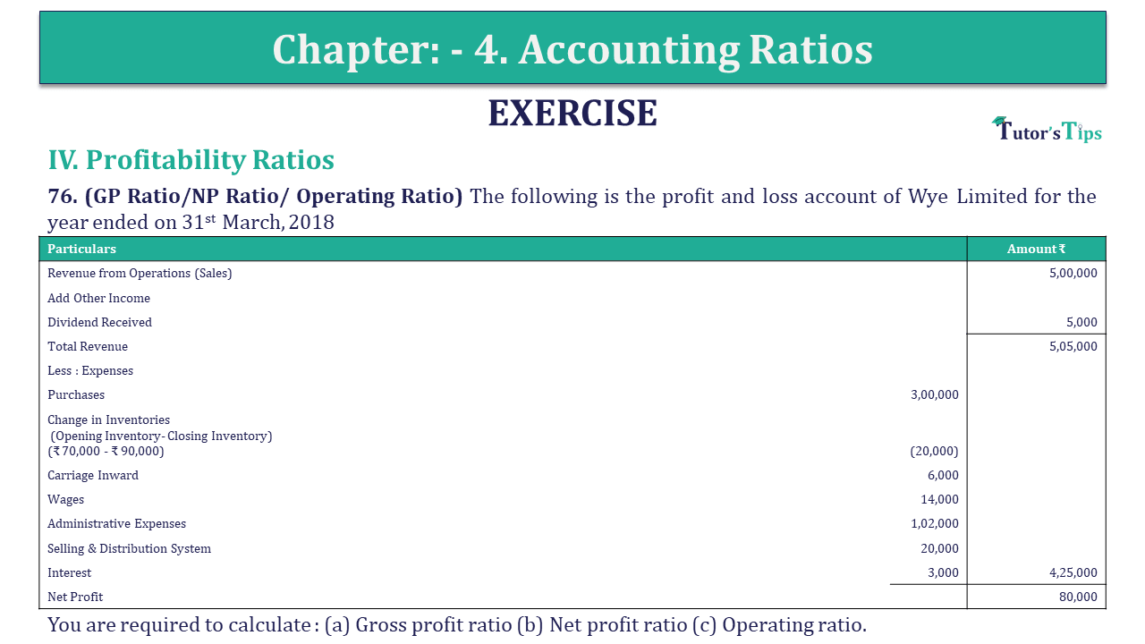 Question 76 Chapter 4 of +2-B