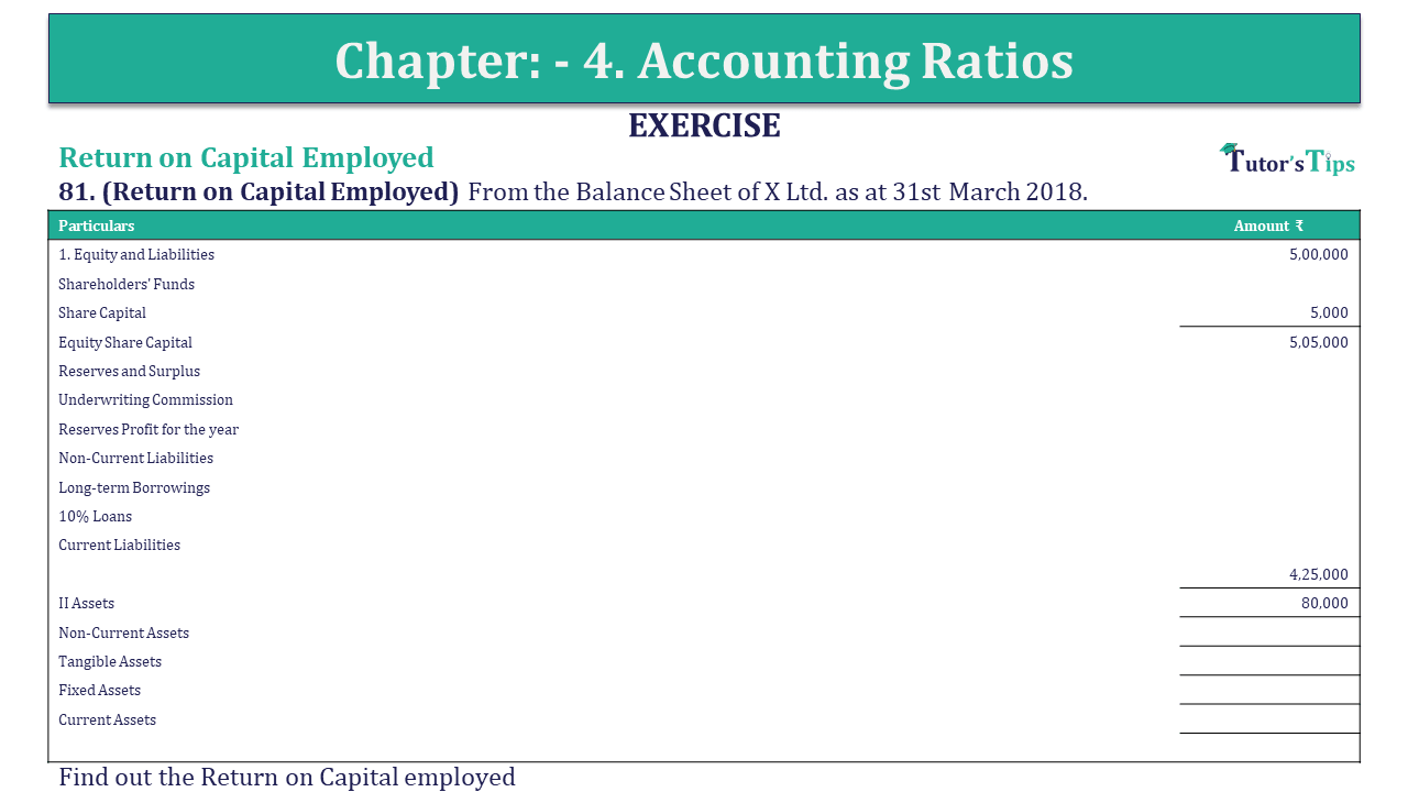 Question 81 Chapter 4 of +2-B