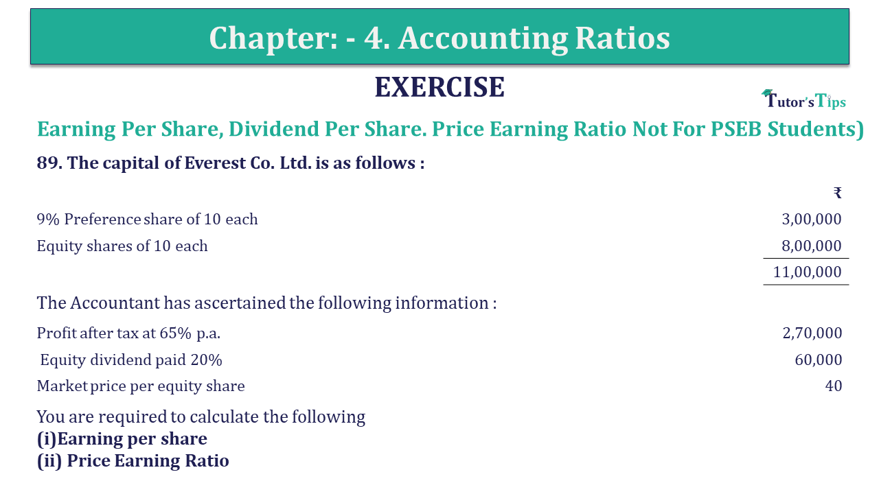 Question 89 Chapter 4 of +2-B