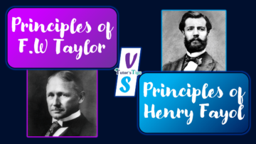 Diffrence between Principles of fw taylor and henry fayol min 360x203 - Differences - Business Studies