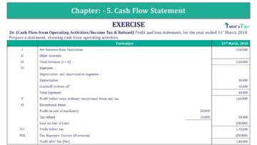 Q 26 CH 5 Book 2 Usha Publisher 2 Book 2019 Solution min 360x203 - Chapter No. 5 - Cash Flow Statement – USHA Publication Class +2 (Part 2) – Solution