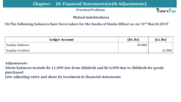 Q 34 CH 18 USHA 1 Book 2020 Solution min 360x203 - Chapter No. 18 - Financial Statements - (With Adjustments) - USHA Publication Class +1 - Solution