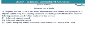 Q 35 CH 18 USHA 1 Book 2020 Solution min 360x203 - Chapter No. 18 - Financial Statements - (With Adjustments) - USHA Publication Class +1 - Solution