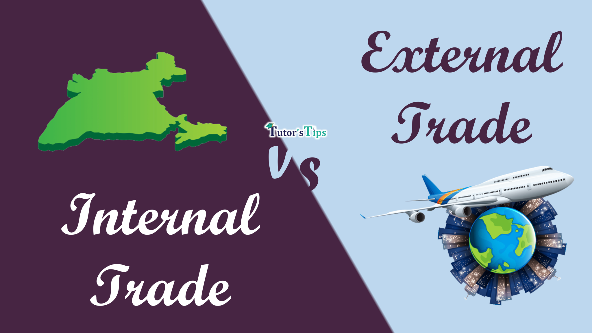 Difference Between Internal Trade and External Trade