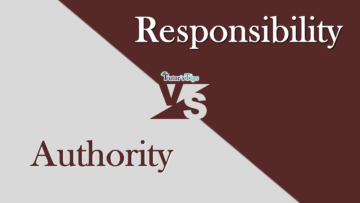 Difference between Authority and responsibilty min 360x203 - Differences - Business Studies