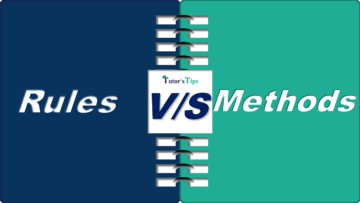 Difference between Rules and Methods min 360x203 - Differences - Business Studies