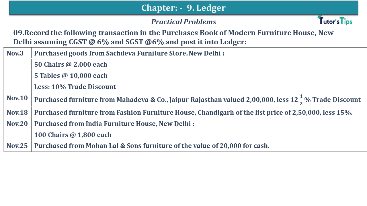 Question No 09 Chapter No 9