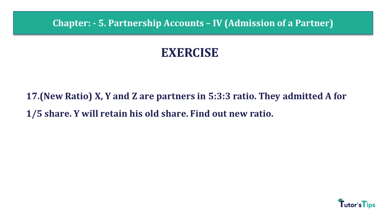 Question 17 Chapter 5 of +2- Part-