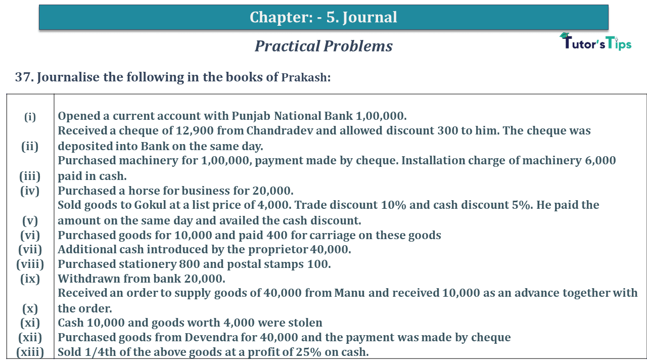 Question No 37 Chapter No 5