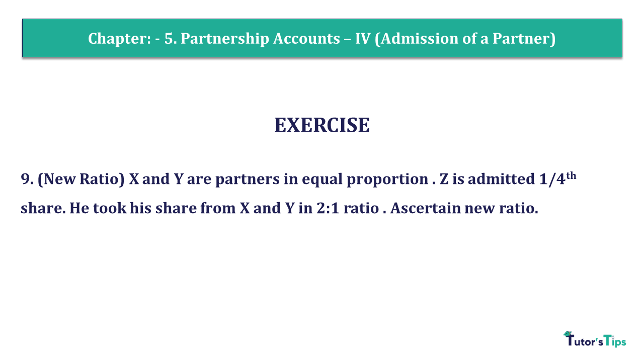 Question 09 Chapter 5 of +2- Part-1