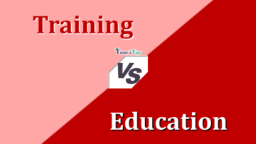 Difference Between Training and Education min 360x203 - Differences - Business Studies