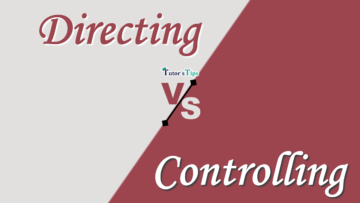 Difference between Directing and Controlling min 360x203 - Differences - Business Studies