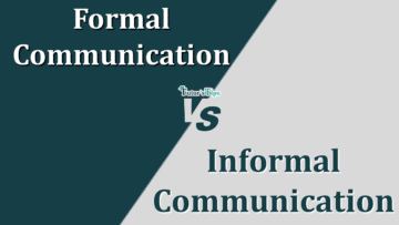 Difference between Formal and Informal Communication 360x203 - Differences - Business Studies