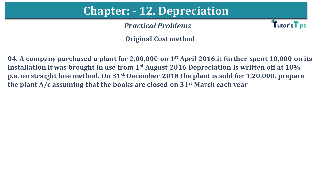 Question No 04 Chapter No 12