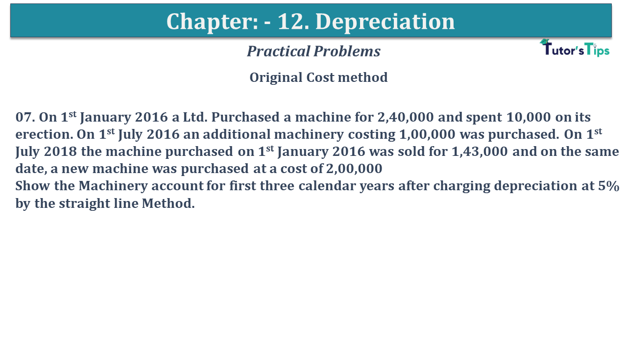 Question No 07 Chapter No 12