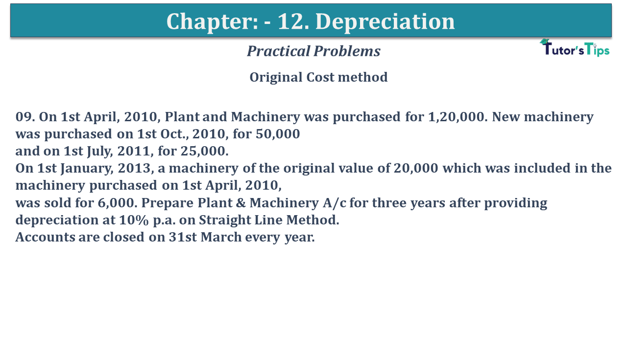 Question No 09 Chapter No 12