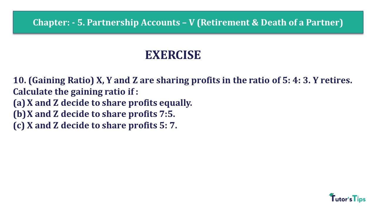 Question 10 Chapter 6 of +2- Part