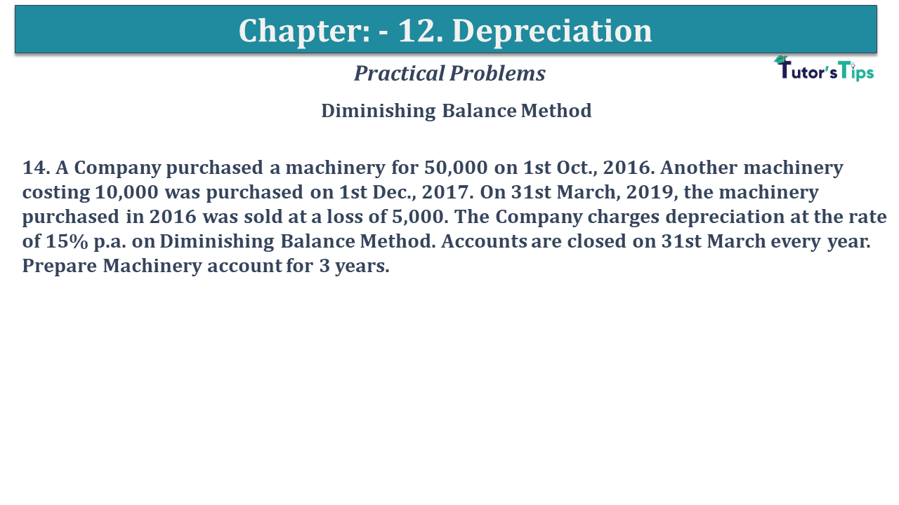 Question No 14 Chapter No 12