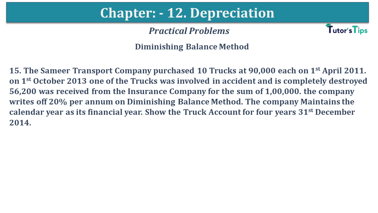 Question No 15 Chapter No 12