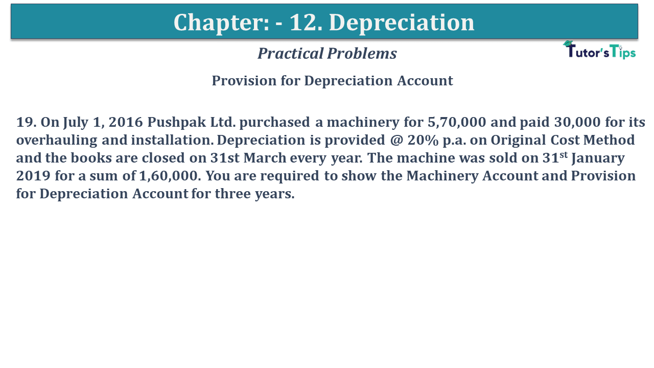 Question No 19 Chapter No 12