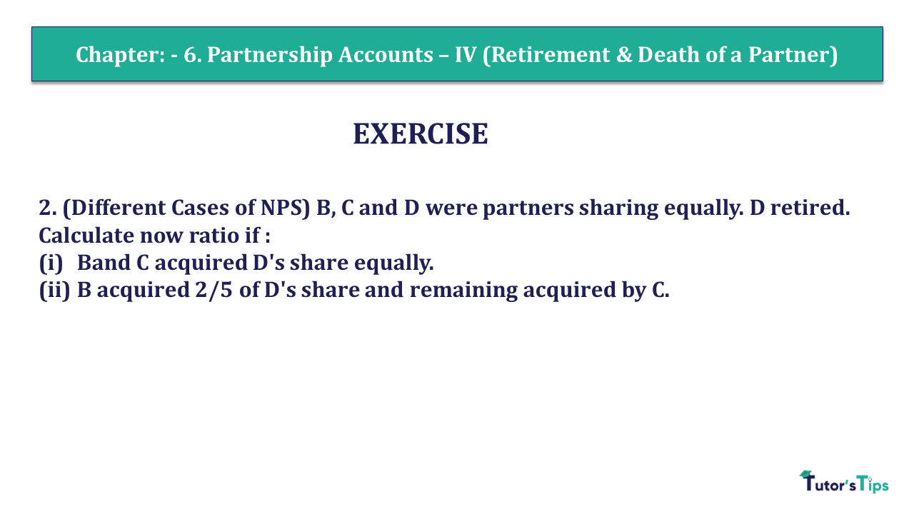 Question 02 Chapter 6 of +2- Part-