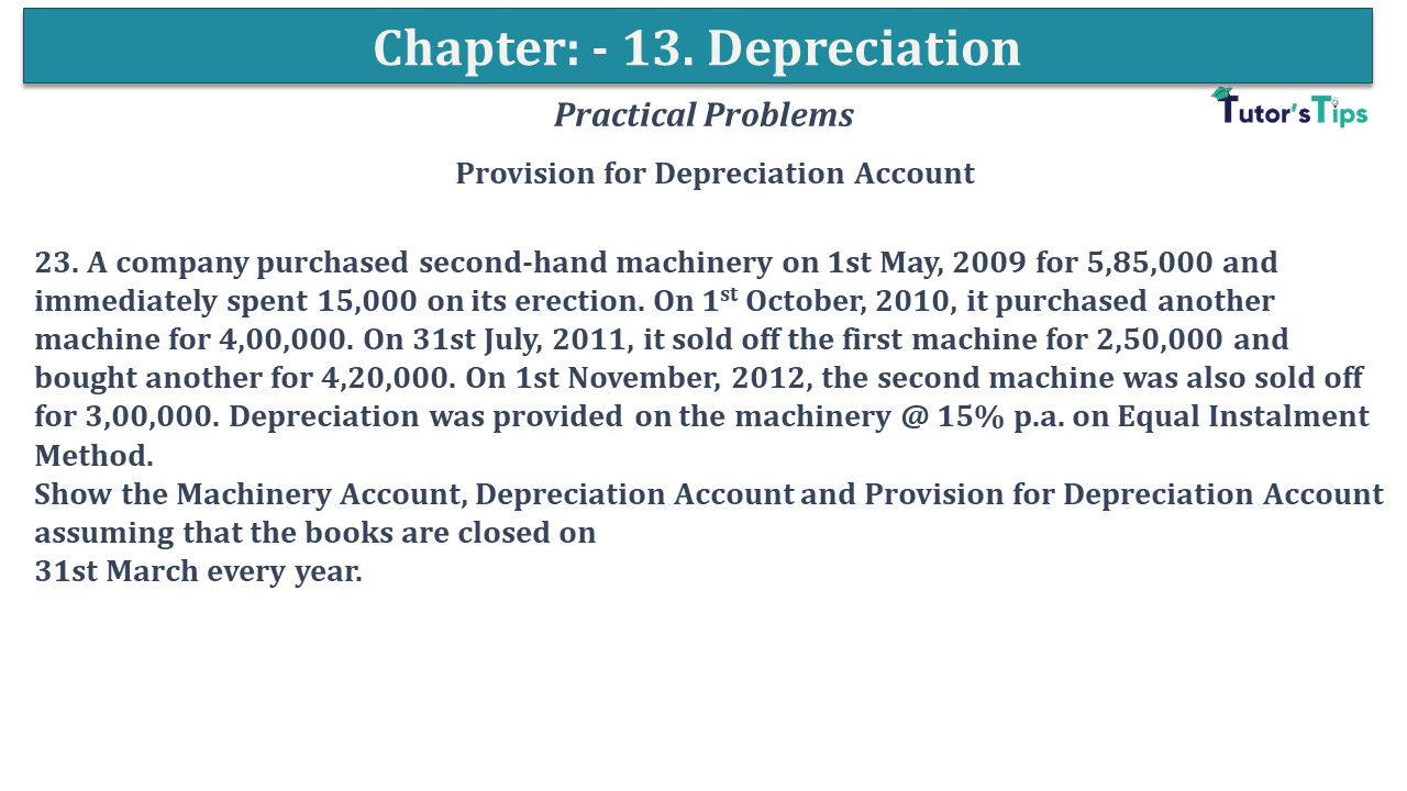 Question No 23 Chapter No 12