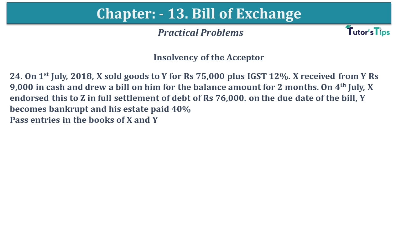 Question No 24 Chapter No 13