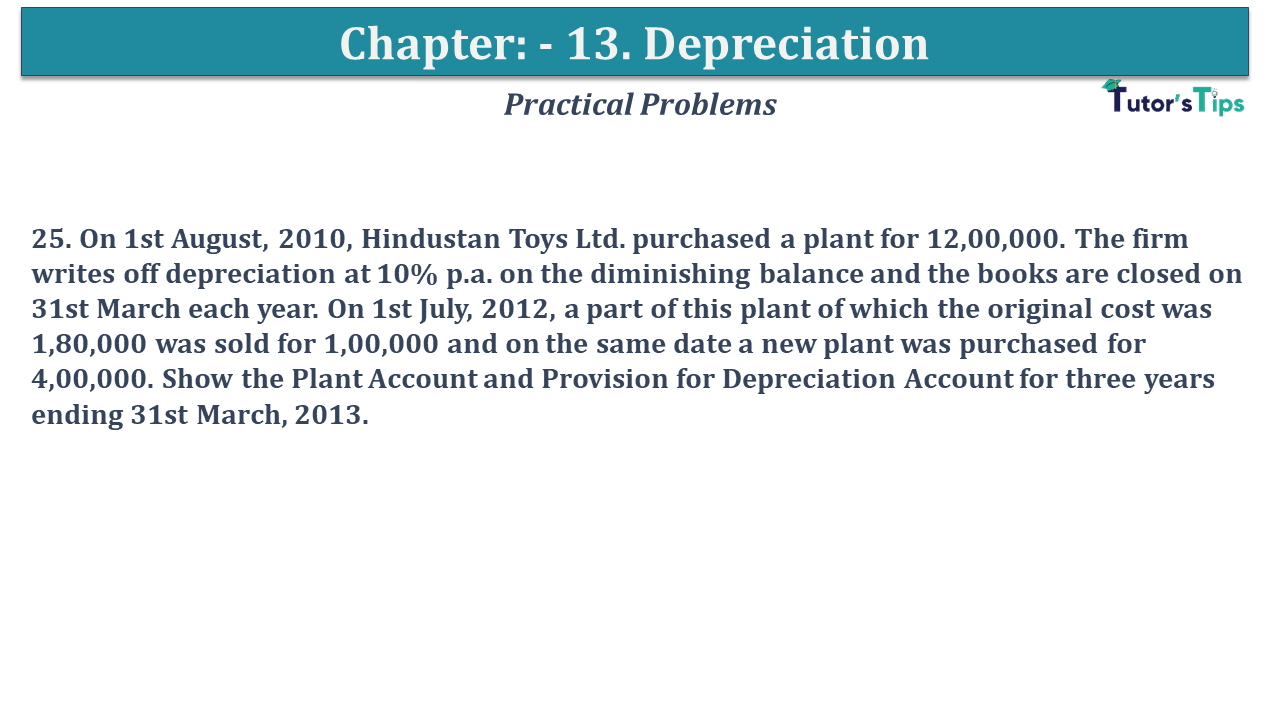 Question No 25 Chapter No 12