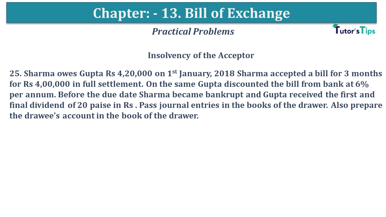 Question No 25 Chapter No 13