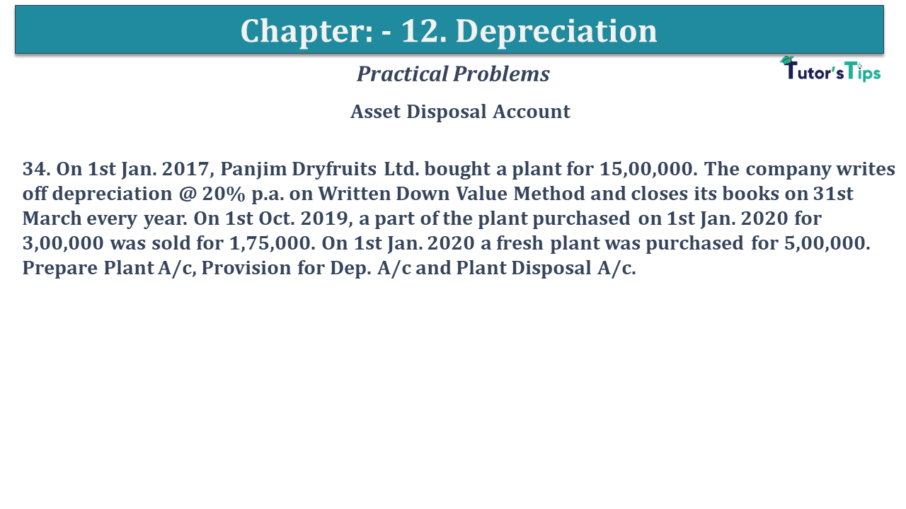 Question No 34 Chapter No 12