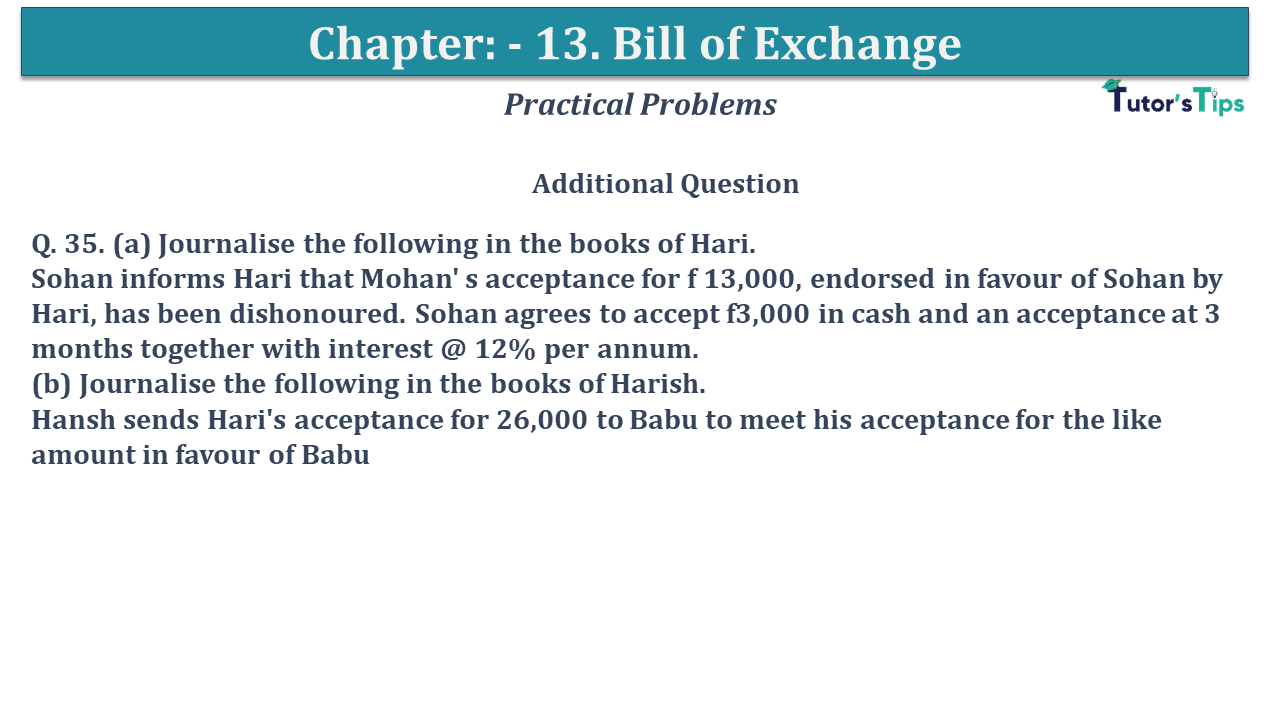 Question No 35 Chapter No 13