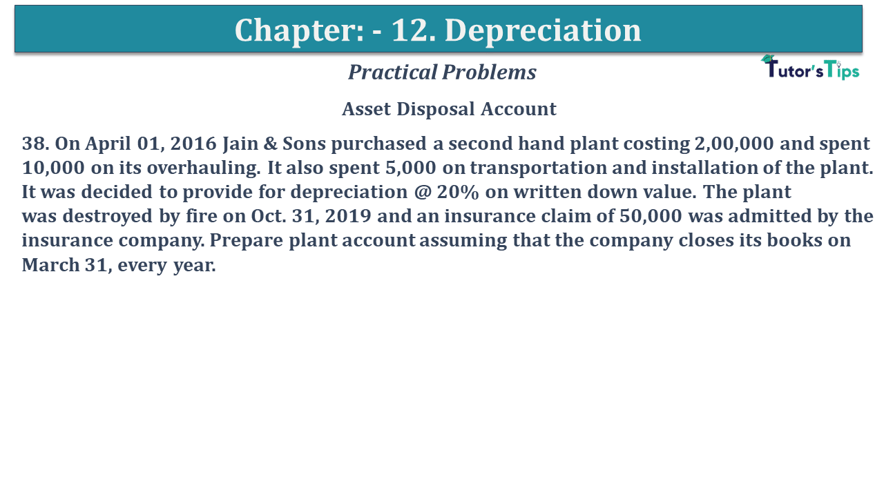 Question No 38 Chapter No 12