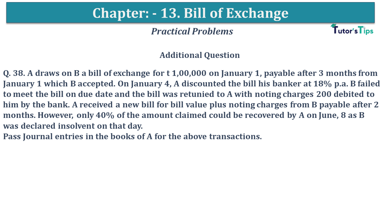 Question No 38 Chapter No 13